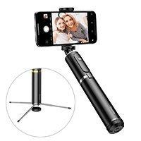 Baseus Selfie Stick + Tripod Telescopic Stand Bluetooth silver (SUDYZP-D1S)