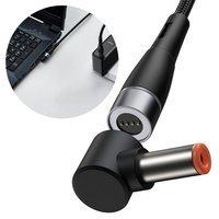 Baseus Zinc Magnetic Series Lenovo Laptop Charging Cable USB Type C to DC Round Port(5,5 x 2,5mm) 100W 2m black (CATXC-X01)