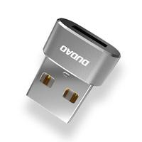 Dudao converter USB Type C to USB Adapter Connector black (L16AC black)