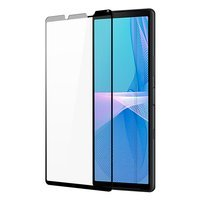 Dux Ducis 10D Tempered Glass Tough Screen Protector Full Coveraged with Frame for Sony Xperia 10 III black (case friendly)