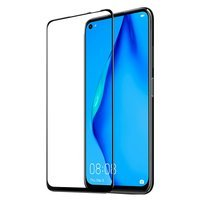 Dux Ducis 9D Tempered Glass Tough Screen Protector Full Coveraged with Frame for Huawei P40 Lite / Nova 7i / Nova 6 SE black (case friendly)