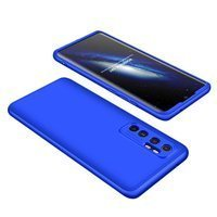 GKK 360 Protection Case Front and Back Case Full Body Cover Xiaomi Mi Note 10 Lite blue