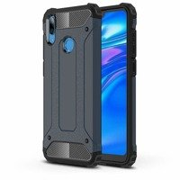 Hybrid Armor Case Tough Rugged Cover for Asus ZenFone Max Pro M2 ZB631KL blue