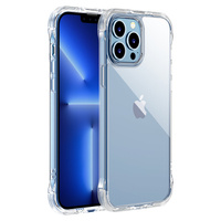 Joyroom Defender Series case for iPhone 13 Pro rugged housing with hooks kickstand transparent (JR-BP955)