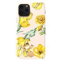 Kingxbar Blossom case decorated with original Swarovski crystals iPhone 11 Pro Max multicolour (Jasmine)