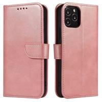Magnet Case elegant bookcase type case with kickstand for Samsung Galaxy M31s pink