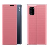 New Sleep Case Bookcase Type Case with kickstand function for Samsung Galaxy Note 10 Lite pink