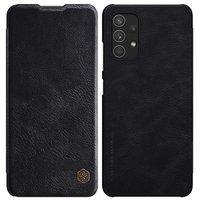 Nillkin Qin original leather case cover for Samsung Galaxy A32 4G black