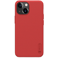 Nillkin Super Frosted Shield Pro Case durable for iPhone 13 mini red