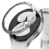 Ringke Bezel Styling case frame envelope ring Watch 6 / 5 / 4 (44mm) silver (Stainless Steel) (GW4-44-01)