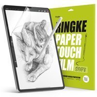 """Ringke PAPER TOUCH Film Soft Paper-like Screen Protector 2-pack iPad Pro 11"""" 2021/ 2020/ 2018 / iPad Air 2020 transparent (PF13S039)"""
