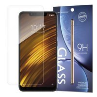 Tempered Glass 9H Screen Protector for Xiaomi Pocophone F1 (packaging – envelope)
