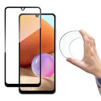 Wozinsky Full Cover Flexi Nano Glass Hybrid Screen Protector with frame for Samsung Galaxy A42 5G transparent