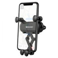 Wozinsky Gravity Car Mount Phone Holder for Air Outlet black (WCH-05)