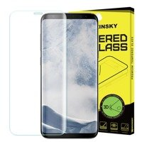 Wozinsky Tempered Glass 3D Screen Protector Full Coveraged with Frame for Samsung Galaxy S9 Plus G965 clear