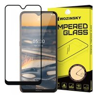 Wozinsky Tempered Glass Full Glue Super Tough Screen Protector Full Coveraged with Frame Case Friendly for Nokia 5.3 black