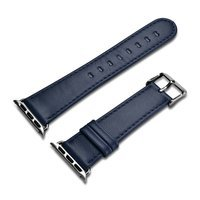 iCarer Leather Vintage wristband genuine leather strap for Watch 3 42mm / Watch 2 42mm / Watch 1 42mm dark blue (RIW118-DB)
