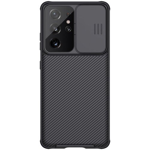 Nillkin CamShield Pro Case Durable Cover with camera protection shield for Samsung Galaxy S21 Ultra 5G black