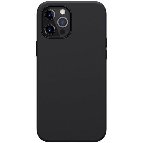 Nillkin Flex Pure Pro Case Soft Flexible Rubber Cover for iPhone 12 Pro Max black (MagSafe compatible)