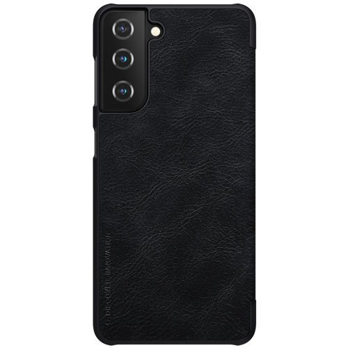 Nillkin Qin original leather case cover for Samsung Galaxy S21 5G black