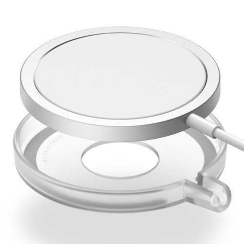 Ringke Slim case cover for the Apple MagSafe Qi wireless charger transparent (ACMS0001)