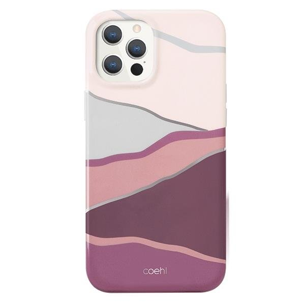 UNIQ Coehl Ciel case for iPhone 12 Pro / iPhone 12 pink