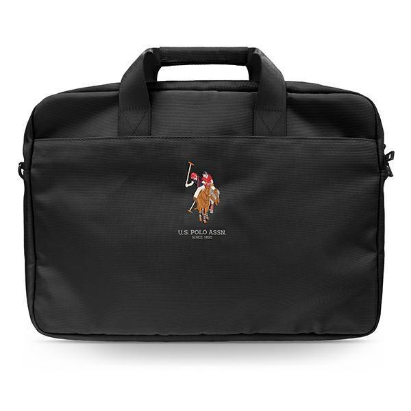 "US Polo Bag USCB15PUGFLBK 15 ""black / black"
