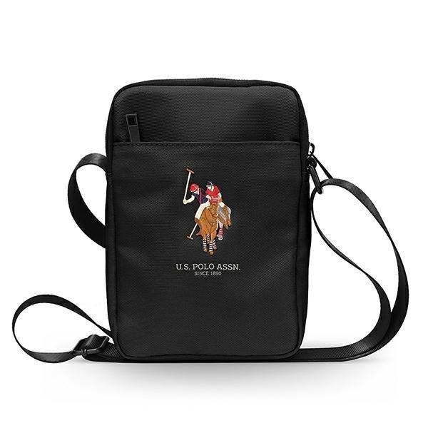 "US Polo Bag USTB8PUGFLBK 8 ""black / black"