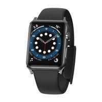 Baseus Slip-Thru pasek opaska bransoleta do Apple Watch 3/4/5/6/SE 38mm/40mm czarny (LBWSE-01)