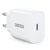 Choetech ładowarka sieciowa USB Typ C 20W Power Delivery 3A biały (Q5004)