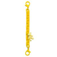 Color Chain (rope) kolorowy łańcuszek łańcuch zawieszka do telefonu portfela plecaka żółty