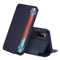 DUX DUCIS Skin X kabura etui pokrowiec z klapką Samsung Galaxy A31 niebieski