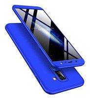 GKK 360 Protection Case etui na całą obudowę przód + tył Samsung Galaxy A6 Plus 2018 A605 niebieski