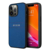 """Guess GUHCP13XPSASBBL iPhone 13 Pro Max 6,7"""" niebieski/blue Saffiano Strap"""