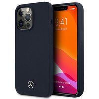 """Mercedes MEHCP13LSILNA iPhone 13 Pro / 13 6,1"""" granatowy/navy hardcase Silicone Line"""
