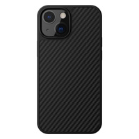 Nillkin etui Synthetic Fiber Carbon iPhone 13 czarny