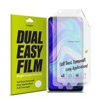 Ringke Dual Easy Film 2x łatwa w przyklejeniu folia Xiaomi Redmi 10X 4G / Xiaomi Redmi Note 9 (DWXI0002)