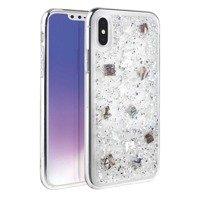 UNIQ etui Lumence Clear iPhone Xs Max srebrny/Perivvinkle silver