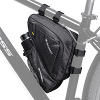 Wozinsky torba rowerowa na ramę roweru czarny (WBB23BK)
