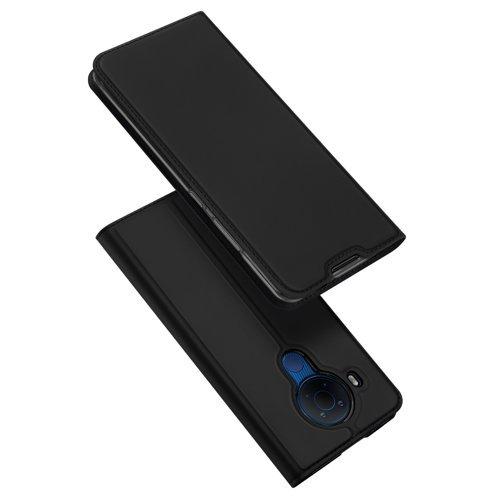 DUX DUCIS Skin Pro kabura etui pokrowiec z klapką Nokia 5.4 czarny